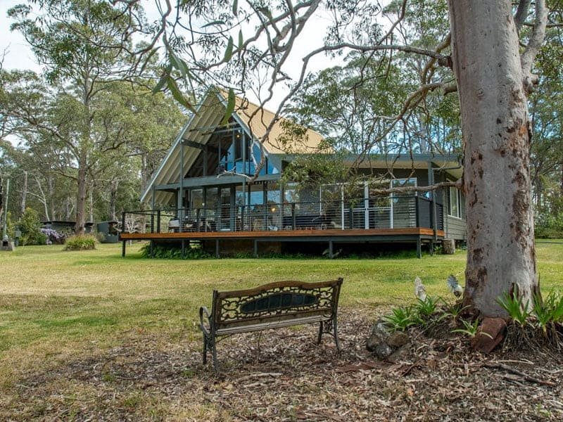 Seal Rocks Holiday Home Rental Deck