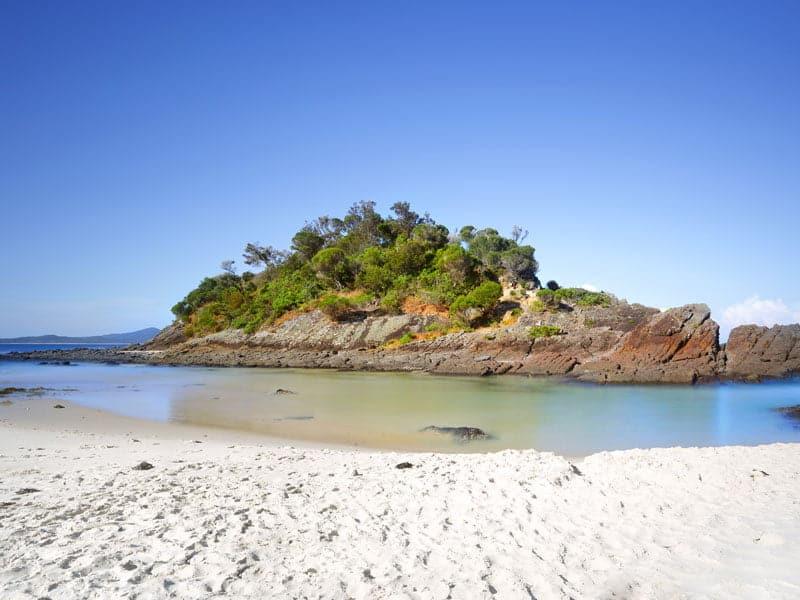 Seal Rocks Number One Beach